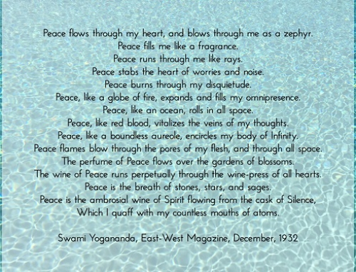 Poem by Yogananda
