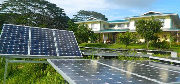 Polestar Gardens Solar Panels