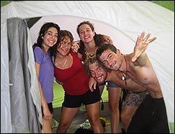 Tent Camping Hawaii