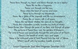 Yogananda Poem